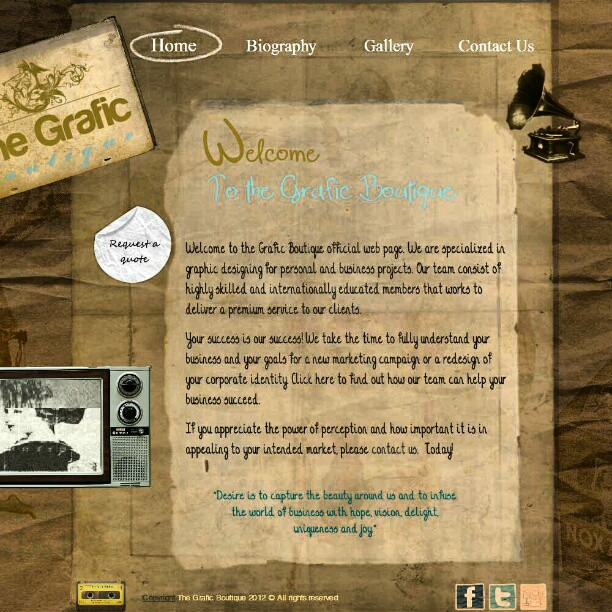 The Grafic Boutique